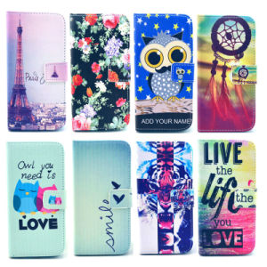 China Factory Price Fashion Print Leather Case for iPhone 6