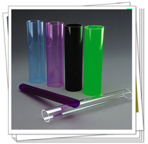 2015 Hot Sale Colored and Clear Acrylic Tube pictures & photos