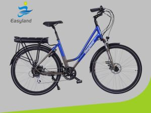 700c Electric City Bike 36V 250W Rst Fork pictures & photos