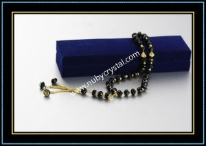 Black Crystal Muslim Prayer Beads pictures & photos