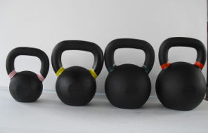 Colorful Hand Cast Iron Kettlebell pictures & photos