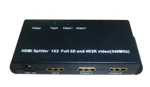 1.4V HDMI Splitter 1x2 Full HD 3D 1080p 4k X 2k