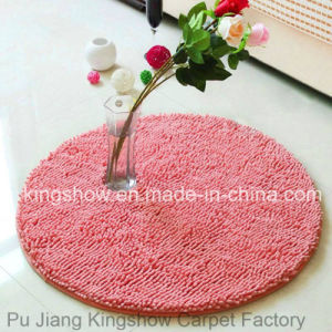 Tufted Chenille Microfiber Polyester Long-Pile Bath Mat Carpet (80R)
