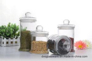 Glass Storage Jar with Glass Lid