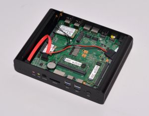 Fanless Intel The Fifth Generation I7 Mini PC (JFTC5500U) pictures & photos