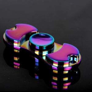 Shiny Colorful Alloy Mini Toy Fidget Hand Finger Spinner pictures & photos