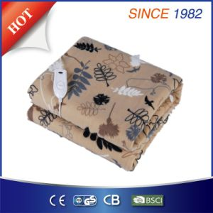 Hot Selling Electric Blanket with Soft Short Charpie pictures & photos