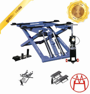 Double Cylinder Hydraulic Lift Scissor Lift pictures & photos