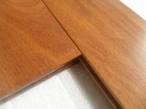 Guangzhou Factory Natural Brazilian Teak Parkett Wood Flooring pictures & photos