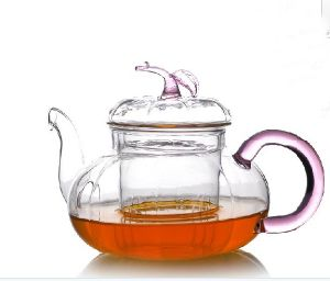 Mdg New Design Glassware Glass Tea Pot pictures & photos
