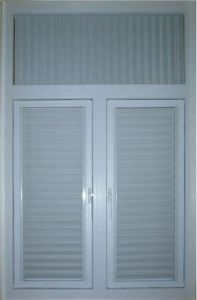 Aluminium Shutter Window pictures & photos