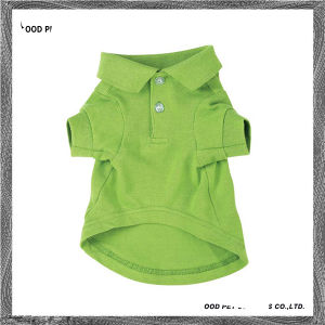 Pet Clothing Plain Dog Polo Shirt Spt6007-1 pictures & photos