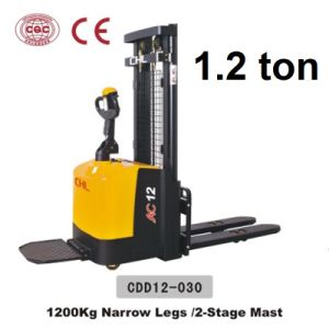 1.2 Ton Electric Stacker Price with Good Quality (CDD12-030) pictures & photos