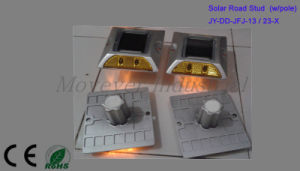 Solar Power Aluminum Road Stud with Pole pictures & photos