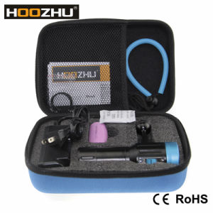 Hoozhu 2600 Lm Underwater Photographing Light with Five Color Light pictures & photos
