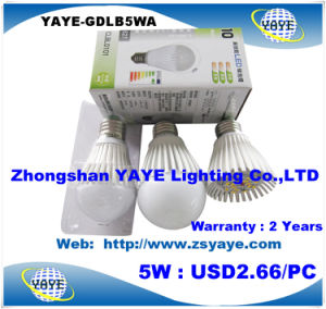 Yaye Best Price High Quality E27 LED Bulb 6W / CE/RoHS E27 LED Bulb 6W pictures & photos