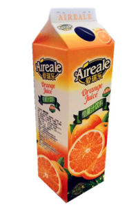 1L Juice Gable Top Carton with Aluminum Foil pictures & photos