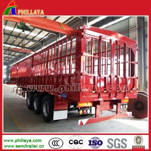 Bulk Cargo Livestock Transport Semi Truck Animal Trailer pictures & photos