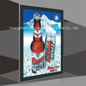 Black Frame Magnetic Slim Signage pictures & photos