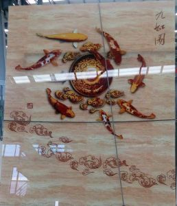 Digital Printing Tempered Laminated Building Window Glass Door Table pictures & photos