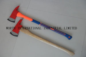 Fireman′s Axe with with Fiberglass Handle pictures & photos