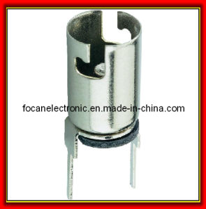 Metal E10 Bulb Socket with Pin pictures & photos