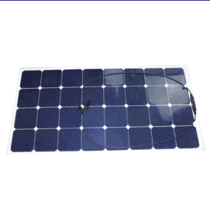 Certificated by Ce ISO High Efficiency 100W 18V Semi Flexible Sunpower Solar Panel pictures & photos