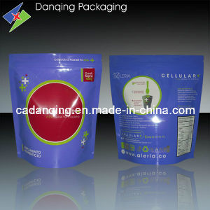 Plastic Packaging Pouch with Zipper, Doypack (DQ0039) pictures & photos