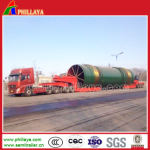 4+6 Modular 10lines Heavy Duty Multi-Axles Customized Low Bed Semi Modular Trailer pictures & photos