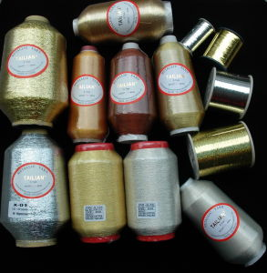 Metallic Yarn for Fabric pictures & photos