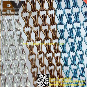 Metal Chain Link Curtain for Decorative pictures & photos