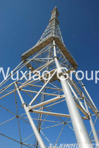 Mivrowave Radio TV Broadcasting Steel Tower pictures & photos