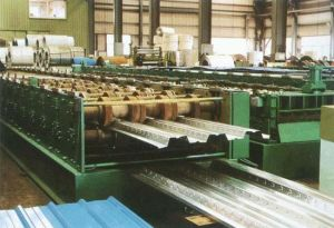 Sheet Metal Forming Corrugated Aluminum Roof Panel Roll Forming Machine pictures & photos