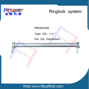 Ringlock System Scaffolding Ledger Horizontal pictures & photos