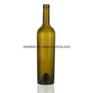 Taper Glass Wine Bottle with Height 330mm pictures & photos