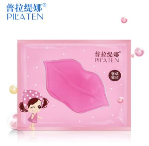 Fashion Crystal Collagen Lip Mask Lips Care Pads Moisture Essence Anti Ageing Wrinkle Patch Pad Gel Lip pictures & photos