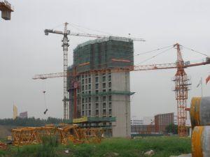 Building Tower Crane 8ton Capacity (QTZ-100) pictures & photos