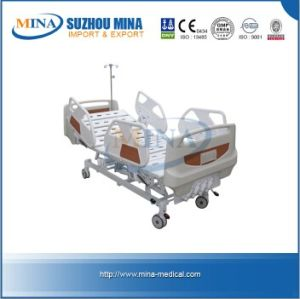 CE ISO Luxurious Medical Bed with Four Revolving Levers (MINA-MB103-A)