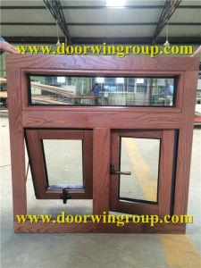 America Oak Wood Aluminum Casement/Awning Window pictures & photos