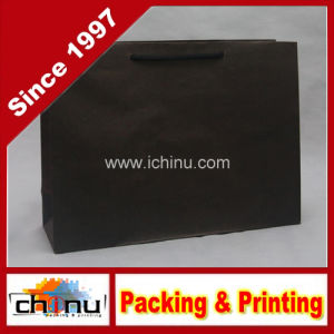 Black Kraft Paper Bag (2124) pictures & photos