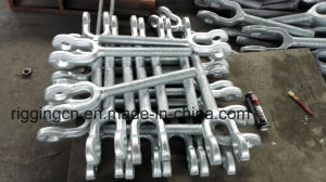 High Quality Hot Sale Us Standerd Type Hot Forged HDG Turnbuckle Jaw /Eye/Hook/Stub pictures & photos