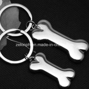 Custom 3D Bone Shape Shiny Key Chains pictures & photos