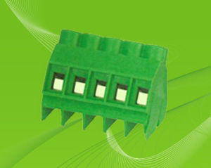 Manufacture Screw Terminal Block for 45degree Wire Direction pictures & photos