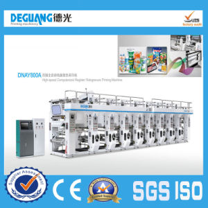 High Speed Computerized Register Rotogravure Printing Machine (DNAY800B) pictures & photos