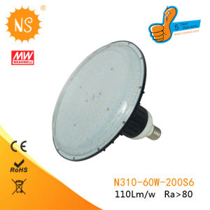 CE RoHS 5630 SMD 6064lm, 360 Deg E39 60W LED Flat Panel Lamp pictures & photos