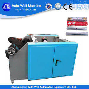 Semi-Automatic Aluminium Foil Rewinding Machine pictures & photos