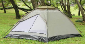 Outdoor Waterproof Polyester Camping Tent for 4 Persons (JX-CT018) pictures & photos