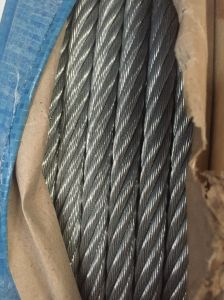 Elec Galv DIN3060 6X19 + FC/Iws/Iwrc Steel Wire Rope pictures & photos