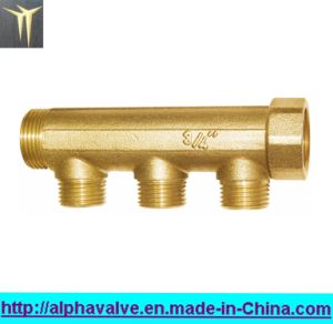 Brass Manifold -Brass 3-Way (a. 0187) pictures & photos