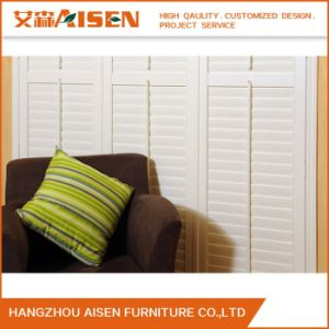 Wholesale Quality White PVC Plantation Shutter From China pictures & photos